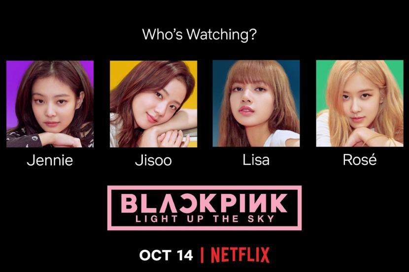 "Dokumenter Blackpink ""Light Up The Sky"" Akan Hadir Di Netflix"