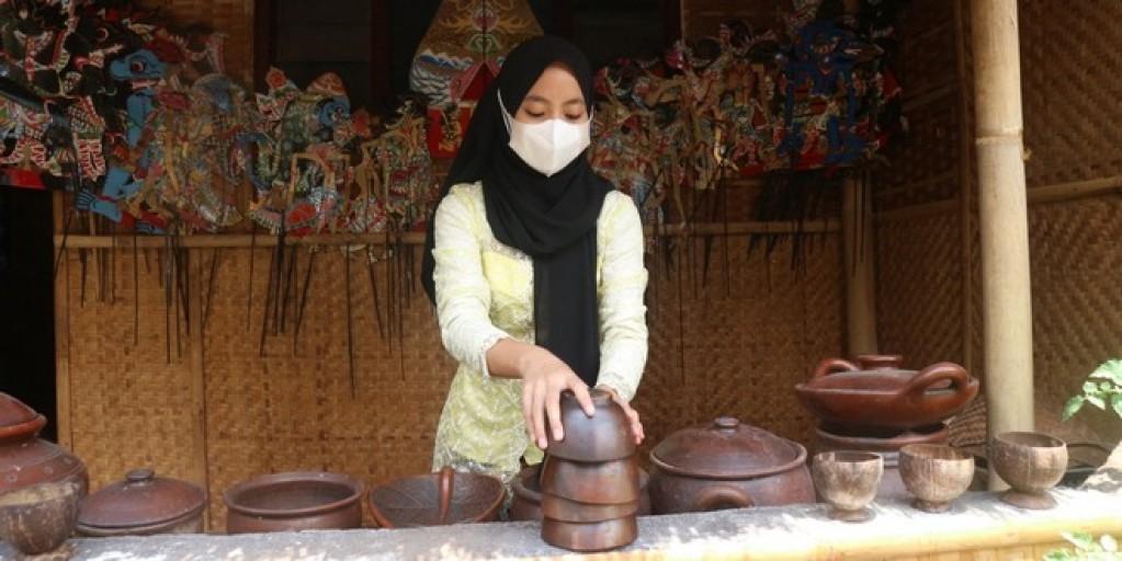 Belum Ada Pengunjung, Kampung Budaya Polowijen Tetap Berkreasi