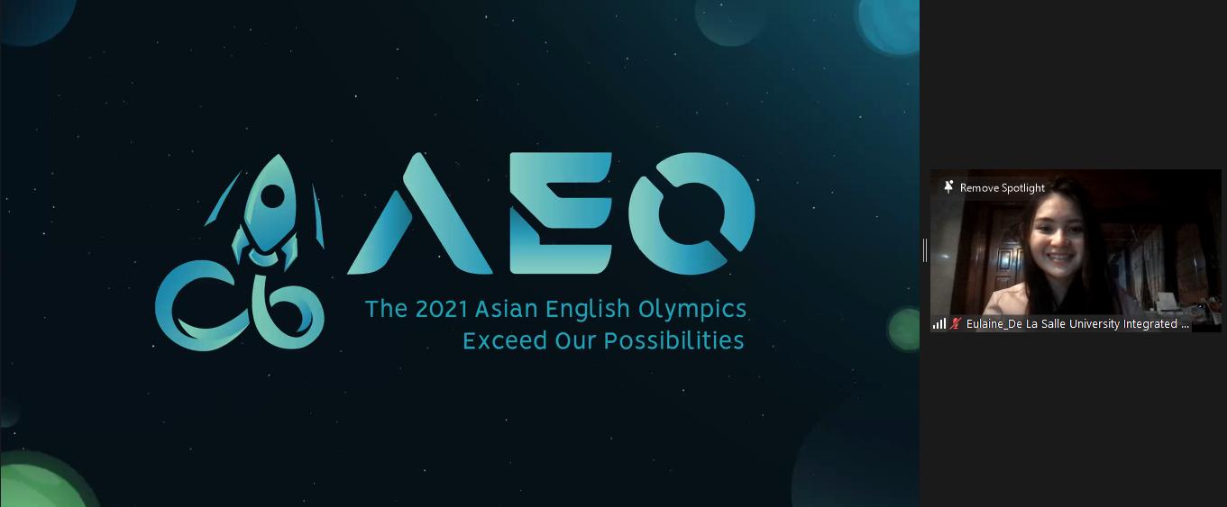 """Asian English Olympics 2021, Diikuti 13 Negara, Berhasil """"Lampaui Rintangan"""""""