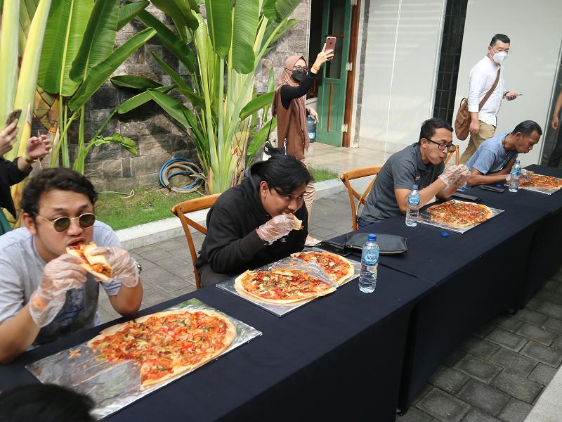 Pizza Gratis Setahun dan Icip Makanan Khas Italia