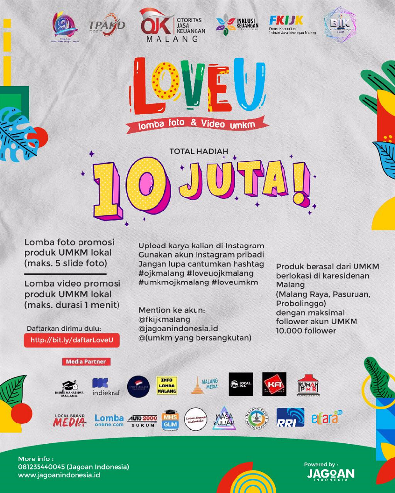 Love U - Lomba Foto dan Video UMKM