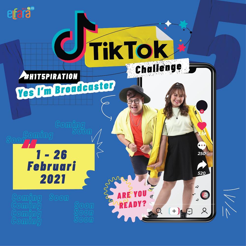 Audisi Yes I'm Broadcaster: Tik-Tok Challenge