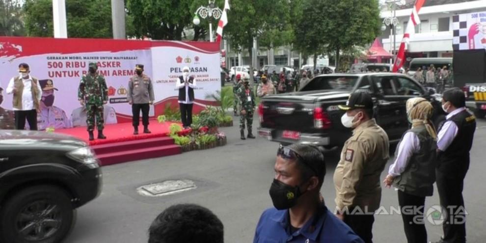Wujudkan Indonesia Bebas Pandemi, BPNB Luncurkan Program Mobil Masker