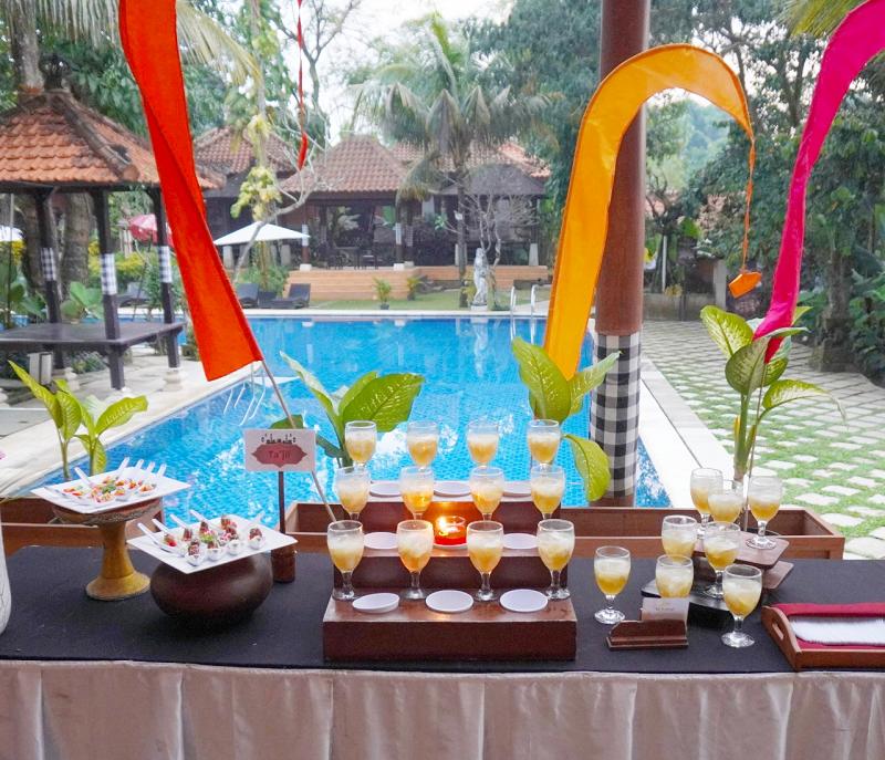 Berbuka ala Bali di Ubud Hotel and Cottages Malang