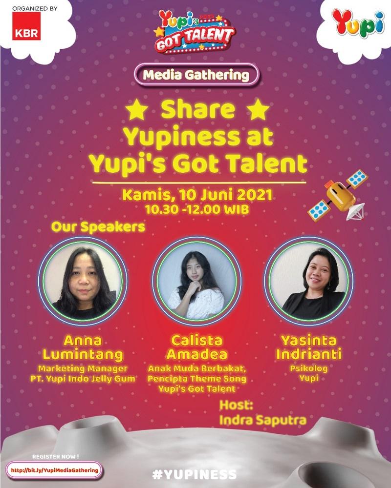 Berprestasi Tanpa Henti Bersama Yupi's Got Talent 2021