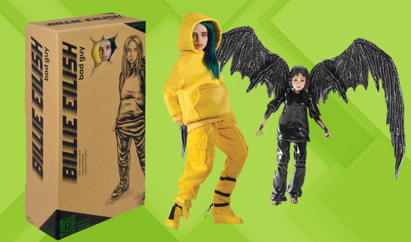 Koleksi Mainan Billie Eilish, Terinspirasi dari Video Musiknya