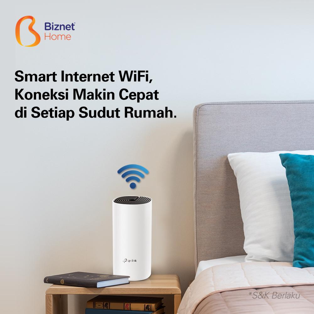 Koneksi Cepat dan Stabil di Setiap Sudut Rumah, Lewat Smart Internet WiFi
